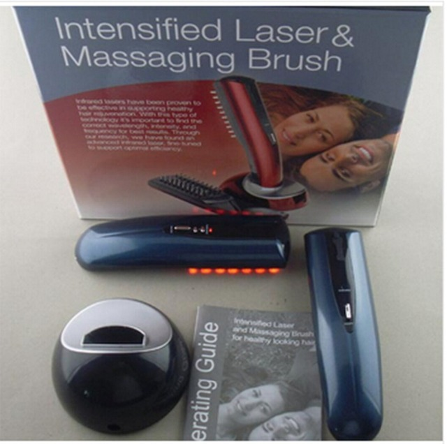 Free Shipping New Hair Care Treatment Laser Mage Comb Mager Brush Hairbrush