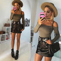 2017 Summer Fashion Solid Cool Long Sleeve Women Ladies V neck Clubwear Playsuit Bodycon Party Jumpsuit Trousers Romper