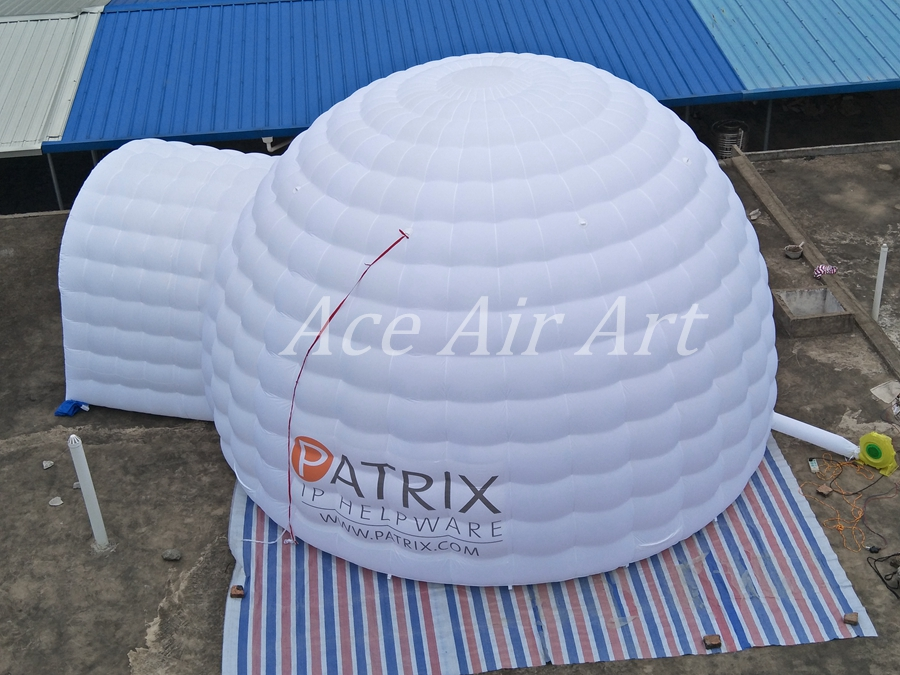nice inflatable dome inflatable lighting igloo for party,event