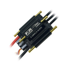 ZTW sello 130A SBEC 3A sin escobillas ESC * 65*46*23,5mm 5,5 V/3A BEC salida para rc Barco de piezas(China)