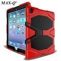 NEW! для Apple iPad Pro 9.7 Case Cover Durable 3 Слоя Силиконовый + ПК Гибридный Прочный Стенд Противоударный Водоотталкивающая Крышка 12 Цвет
