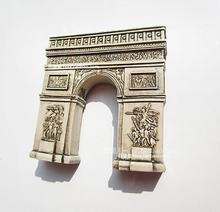 French Arc de Triomphe tourist souvenir refrigerator
