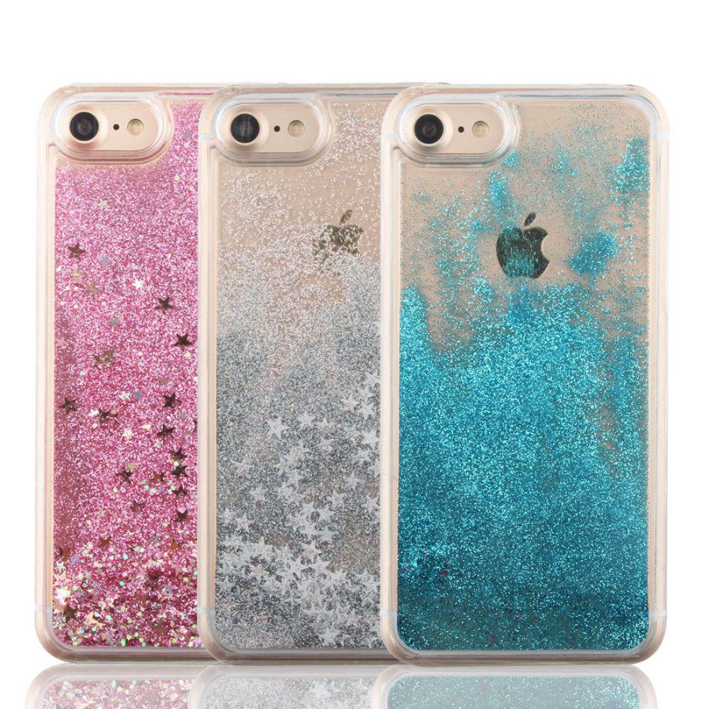 dynamic glitter stars liquid case for iphone 5 5s se 6 6s. Black Bedroom Furniture Sets. Home Design Ideas