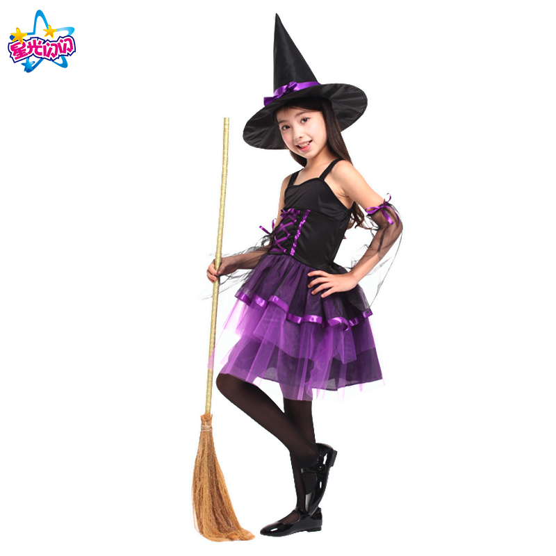 NoEnName Witch Costume For Girls Rollenspel Cosplay Performance - Carnavalskostuums - Foto 6