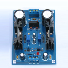 Regulador de voltaje de filtro ajustable lineal, placa de alimentación CC, filtración de producción electrónica, Kits DIY, 317, 337