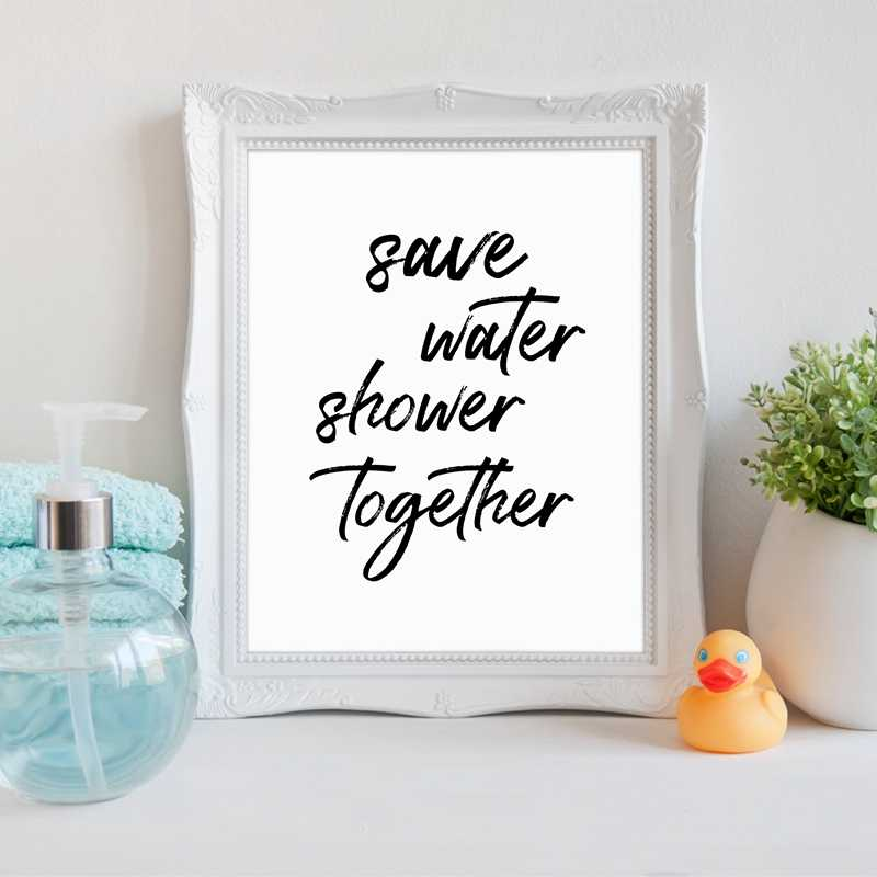 Funny Bathroom Quote Canvas Art Prints And Poster Bathroom Wall Art Decor Canvas Painting Get Naked Typography Print Prints And Posters Canvas Paintingart Print Aliexpress