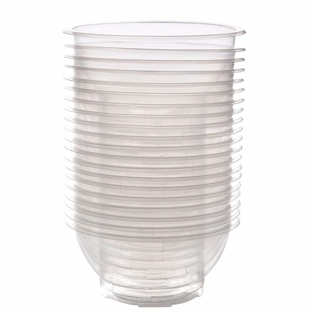 Outdoor Picnic Party Camping Disposable Bowls Clear ...