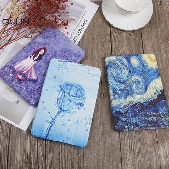 QIJUN Painted Case For Samsung Galaxy Tab S2 8.0inch SM- T710 T715 T713 T719 8.0'' PU leather Flip Stand Cover Smart Cover Cases for samsung galaxy tab s2 8 0 case best kickstand hybrid silicone hard cover for samsung galaxy tab s2 8 0 case t710 t715 t719n