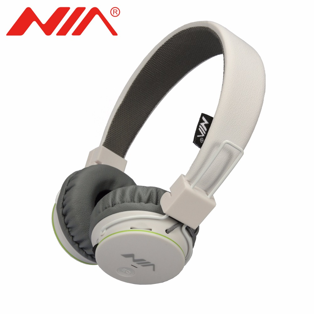NIA 1682 Original EQ Stereo Headphones Foldable Sport Earphone with Mic Support TF Card FM Radio Headset Free Shipping nia 1682s original stereo headphones 10 colors collapsible music player portable headset support tf card fm radio free shipping