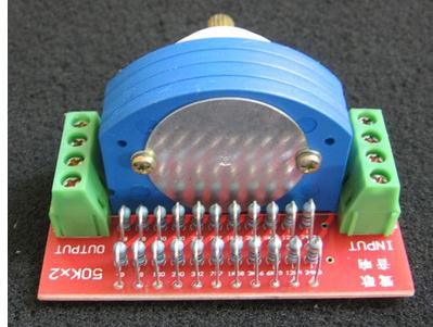 1PCS 12 files stepping left and right channel volume potentiometer resistance error is far smaller specifications orbital volume 6 resistance
