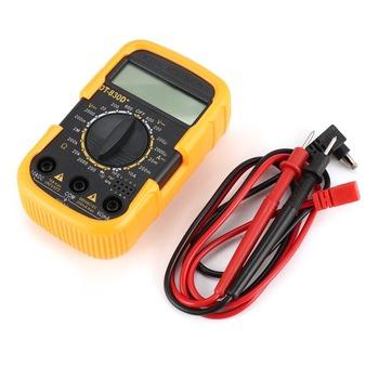 DT830D + Mini kieszonkowy multimetr cyfrowy 1999 zlicza AC DC Volt Amp Ohm dioda hFE Tester ciągłości amperomierz woltomierz tanie i dobre opinie SMART SENSOR ELECTRICAL CN (pochodzenie) DT830D+ Cyfrowy wyświetlacz 105x 62 x 32mm Other Black Orange 200ohm 2 20 200Thousand euros 2Megohm