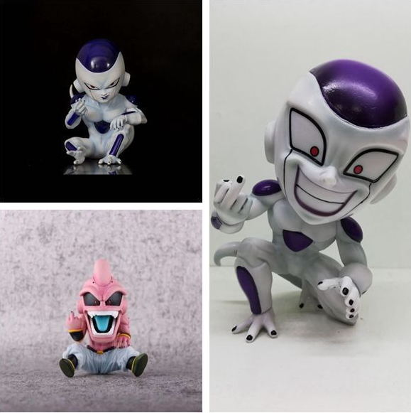 13cm Dragon Ball Z Majin Buu Majin Boo CELL Freeza Frieza Figure Action Figure PVC Toys Collection Doll Anime Cartoon Model