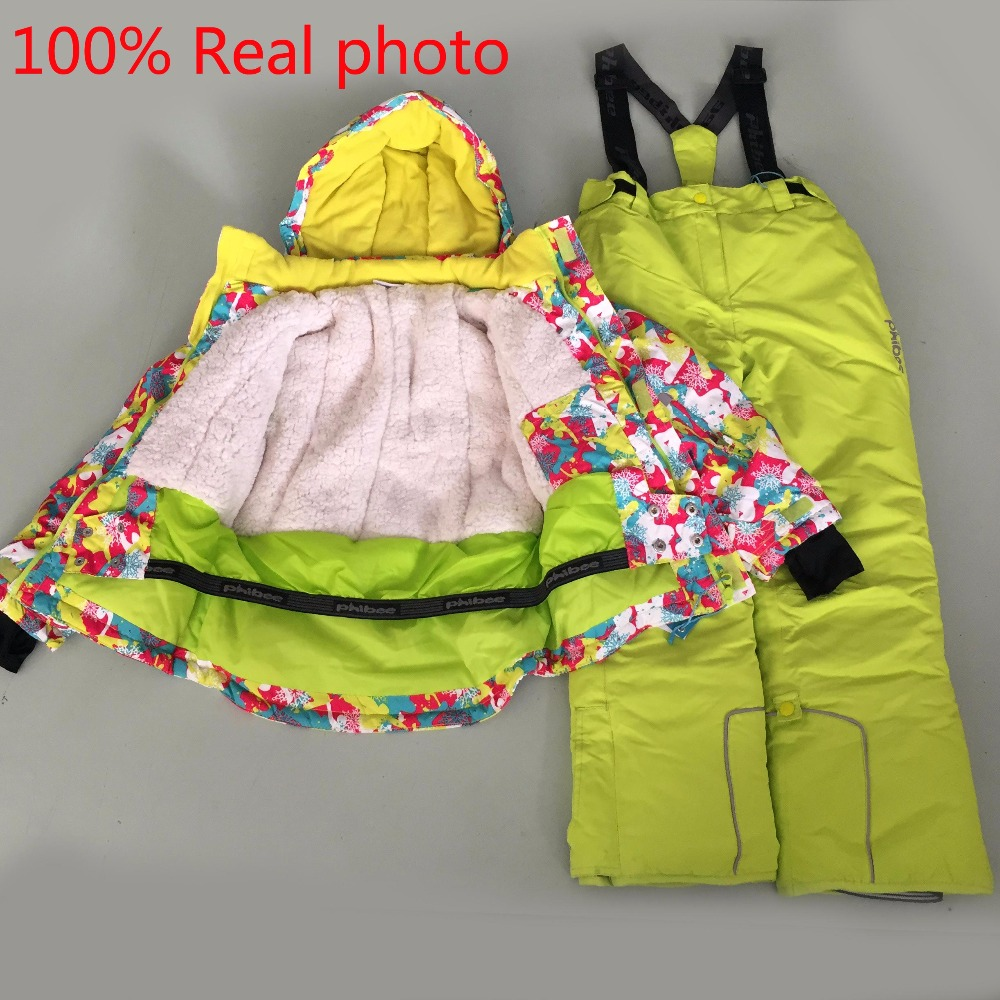 New 6~16 years brand children Waterproof ski suit jackets Winter coat kids jacket parka snowsuit girls coats boys clothing set 2016 winter boys ski suit set children s snowsuit for baby girl snow overalls ntural fur down jackets trousers clothing sets