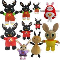 1pcs Bing Bunny Plush Toys Bing Sula Flop Elephant Hoppity Voosh Pando Plush Soft Stuffed Toys Doll Gifts for Children Kids