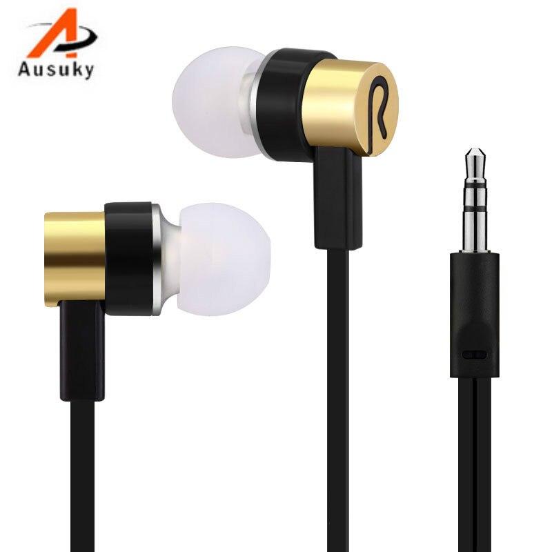 Ausuky універсальний 3,5 мм навушники в - Портативні аудіо та відео