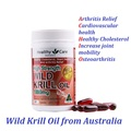 Australia Wild Krill Oil for Osteoarthritis Arthritis Relief Healthy Cholesterol Cardiovascular health Increase joint mobility