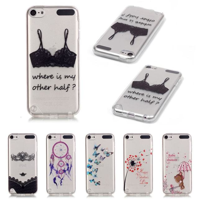 For Apple iPod Touch 6 Case Silicone Soft TPU Back Cover ...
