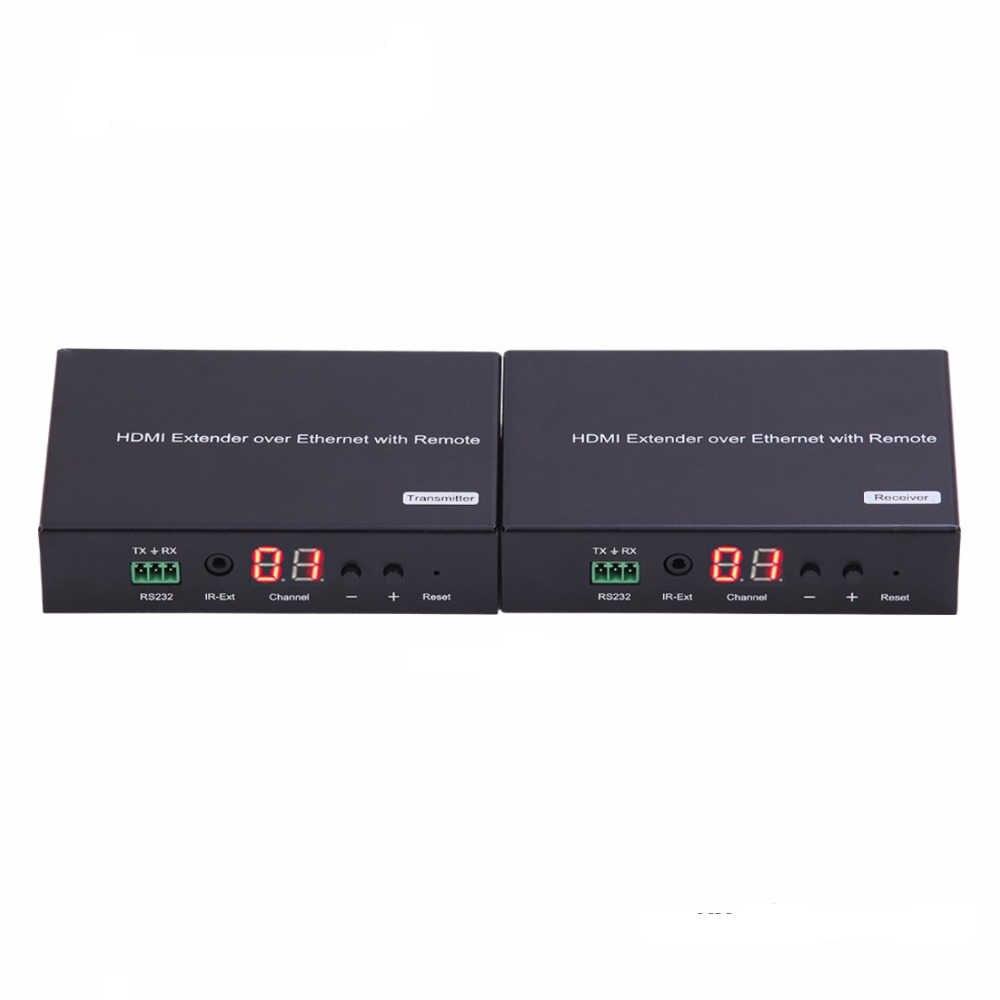 Puzhijie hdmiマトリックス以上tcp ipサポートされている多くtxに多くのrxとir周波数38 Khzに56 Khz vlc hdmiエクステンダー
