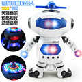 Smart Space Dance Robot Electronic Walking Toy Rotating Space Robot Astronaut Kids Music Light Toys Gift Toy For Child