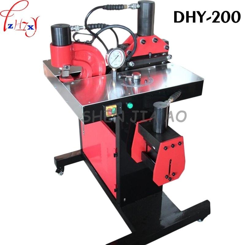 1vnt. 110 DHY-200 šynų perdirbimo mašina, skirta perforuoti, sulenkti, pjaustyti