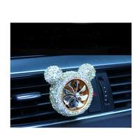 car air outlet Car-encrusted air outlet Air Force No. 8 diamond-encrusted air outlet perfume clip Car creative decoration (5)