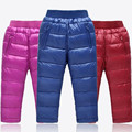 Calças meninos meninas para baixo crianças calças para meninas crianças roupas de inverno crianças leggings menina roupas de inverno meninos calças 2016