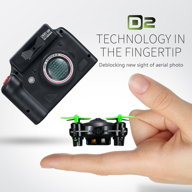 2016 New DHD D2 Mini Drone With Camera 24G 4CH 6 Axis RC Quadcopter