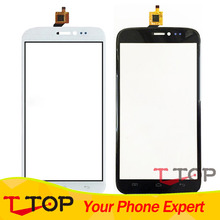 5.7 inch Touch Panel Replacement Part For Explay Cinema Touch Screen Digitizer Front Glass Len Black Color 1PC/Lot