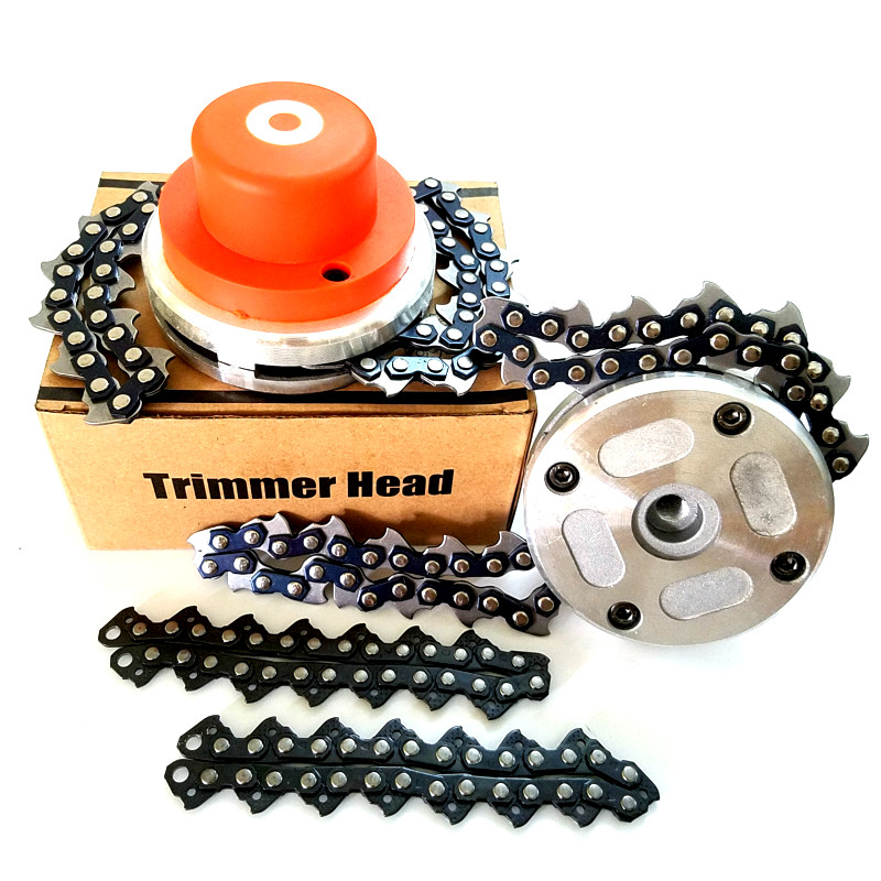 NEW Chain Grass Trimmer Head Lawn Mower Chain Brushcutter For Garden Lawn Mower Parts For Trimmer Garden Tools