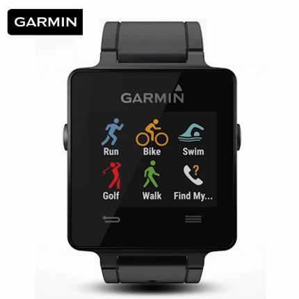 0082bc1dde46ee Original Garmin vivoactive Running Swimming Golf Riding GPS Smart Watch  waterproof digital watch men women sports