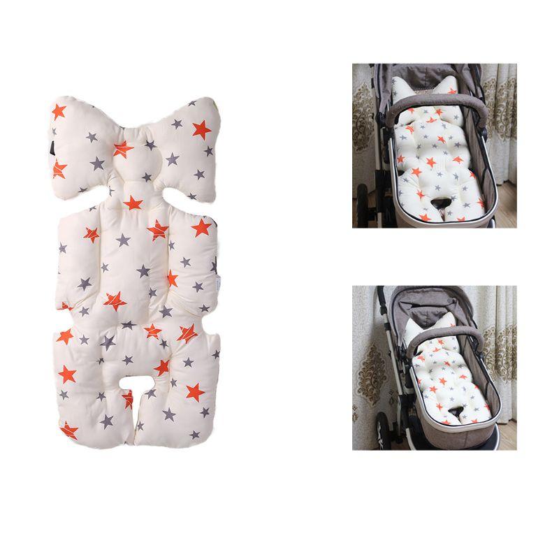 Symbol Of The Brand Stroller Seat Cushion Cartoon Warm Cover Diaper Pad Cotton Baby Cart Mat Pram Kids Sleeping Mattress Mother & Kids