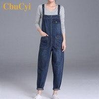 Plus Size M 6XL Women Jeans Jumpsuits Loose Casual Wide Leg Pants Denim Overalls for Women Rompers 200 Pounds Jumpsuit Oversized