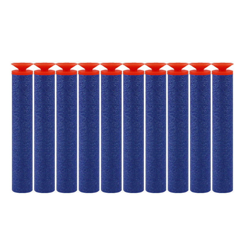 Image 2 - 100PCS For Nerf Bullets Soft Hollow Hole Head 7.2cm Refill Darts Toy Gun Bullets for Nerf Series Blasters Xmas Kid Children Gift-in Toy Guns from Toys & Hobbies