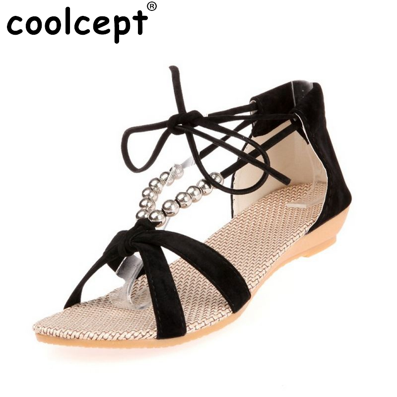 Women Flats Sandals Cross Strap Flat Shoes Women Casual Fashion Classics Shoes Flip Flop Sandal Zapatos Mujer Size 35-39 PA00197