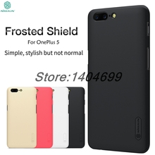 OnePlus 5 Case Nillkin Frosted Shield Hard Armor Back Cover