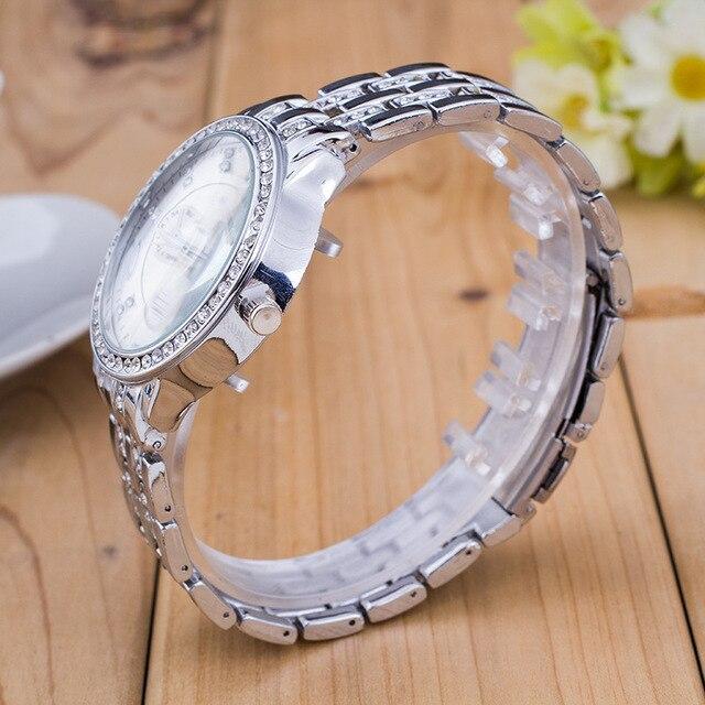 Quartz Watch Men/Women Crystal Watch