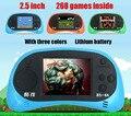 Original CoolBaby RS-8a 2.5 pulgadas LCD de $ number bits NES Juegos Li-On de La Batería Portátil de Mano de Vídeo Jugador Del Juego de Consola clásica los niños de Juguete