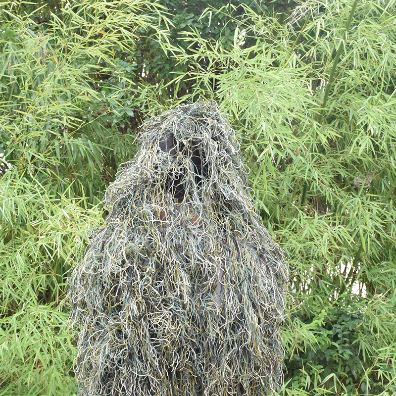 Image 3 - Durable Breathable Mesh Lining Jungle Camouflage Net Hunting Sniper Flapping Clothing Scouting Woodland HandMade Burlap Camo Net-in Blind & Tree Stand from Sports & Entertainment