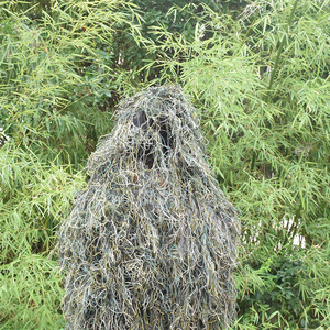 Image 3 - Ghillie Suit Desert Durable Breathable Mesh Lining Hunting Camouflage Sniper Suit Scouting Woodland Sniper Set Kits