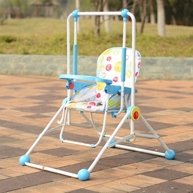 swing chair baby age denim banquet covers children indoor outdoor high quality for different ages