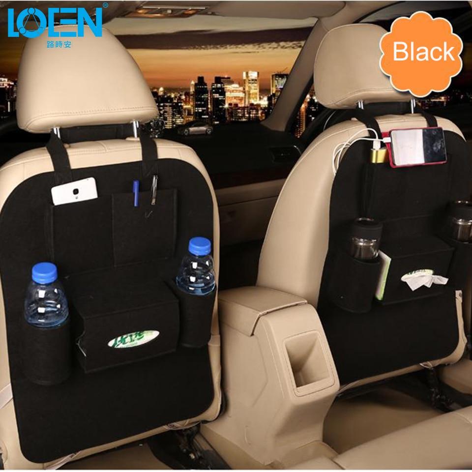 1 UNIDS Auto Asiento de Coche Organizador de Misceláneas Holder - Accesorios de interior de coche - foto 2