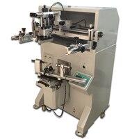 Максимальная печатная dia 80 мм Автоматическая круглая шелкография машина