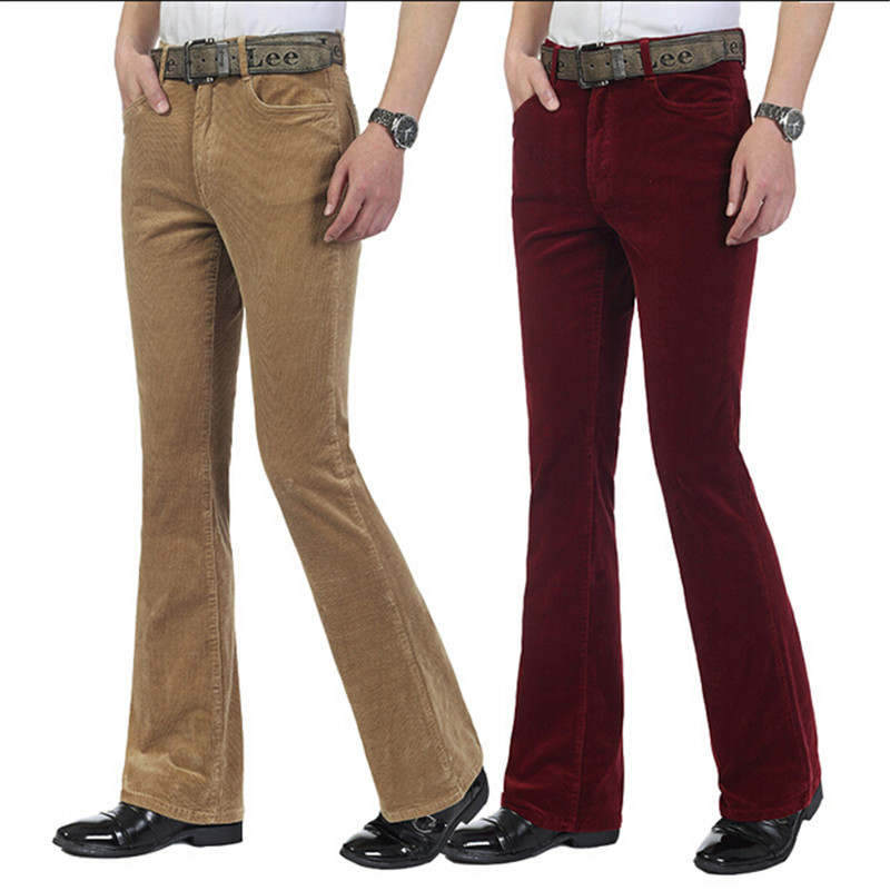 Popular Mens Flared Trousers-Buy Cheap Mens Flared Trousers lots ...