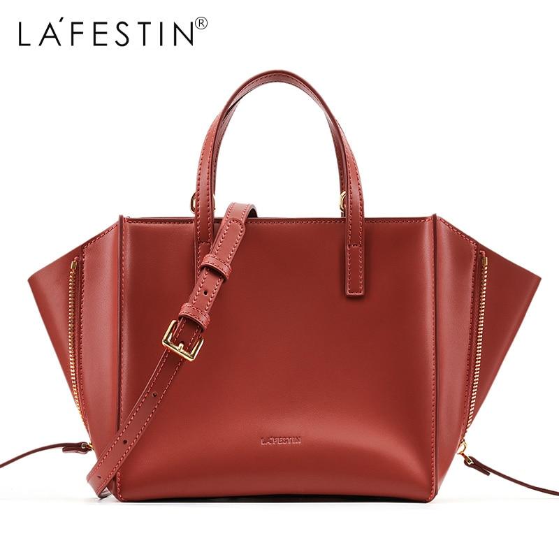 LA FESTIN брендовые сумки для женщин 2018 новые сумки через плечо кожаные сумки формы могут быть изменены замечательный дизайн