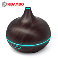 300ml Air Humidifier Essential Oil Diffuser Aroma Lamp Aromatherapy Electric Aroma Diffuser Mist Maker for Home Wood
