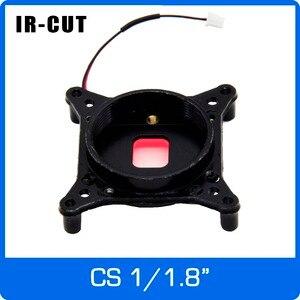 Ir cortar 1/1.8 polegada icr com suporte de montagem cs ser adequado para imx178/185/385 filtros duplos dia e nigh interruptor automático na câmera de cctv