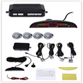Car LED Parking Sensor Monitor Auto Reverse Backup Radar Detector System + LED Display + 4 Sensors 7 Colors