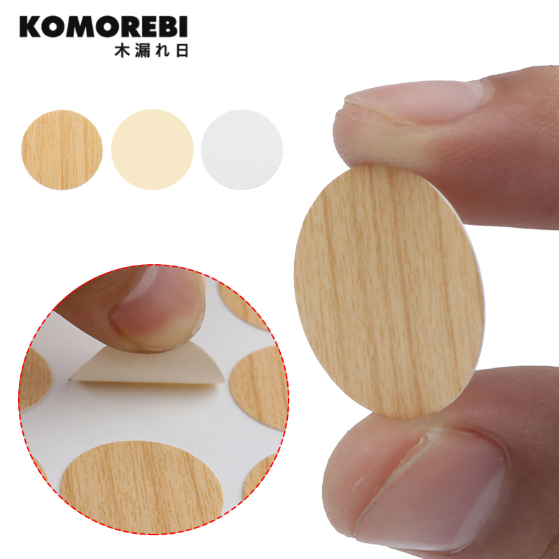 KOMOREBI Furniture Hole Plug Decoration Cap  Screw Hole Cap Cover Home Wood Furniture Cap Cupboard Screw