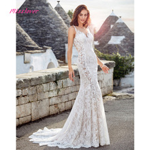 Vestido de noiva Sexy Wedding Dress 2019 Cathedral Train