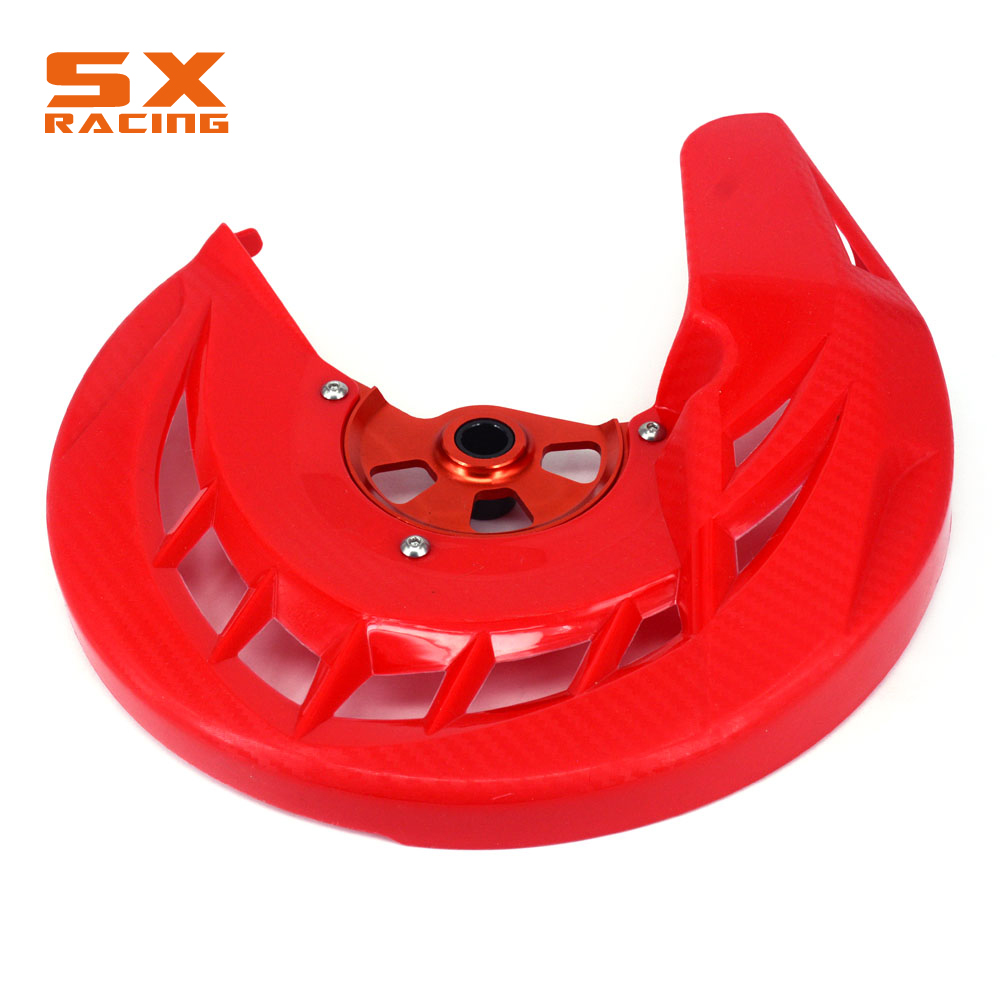 Guard Front Brake Disc Rotor Protector Cover For HONDA CRF250L CRF250M 2012 2013 2014 2015 CRF 250L 250M CRFL 250 CRFM 250 cnc for honda crf250l 2012 2013 2014 2015 motorcycle brake clutch levers orange dirt bike pivot lever crf 250l crf 250 l